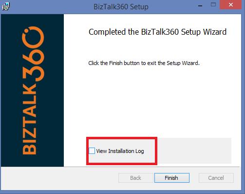 BizTalk360 Installer Changes v8.7