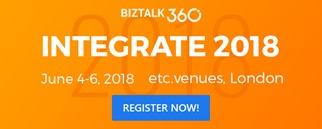INTEGRATE 2018: Registration