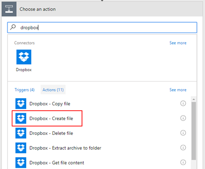 Flow's to the help: SmartDocumentor Listener Flow Dropbox create file