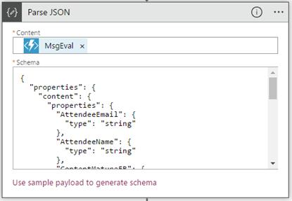 Processing Feedback Evaluations paper: SmartDocumentor Logic App Parse JSON action