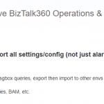 Import/Export Configurations