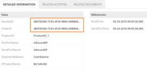 BAM portal: Detailed information