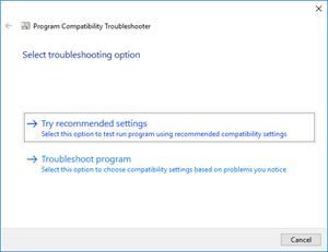 Visual Studio: troubleshoot option