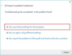 Visual Studio: save settings