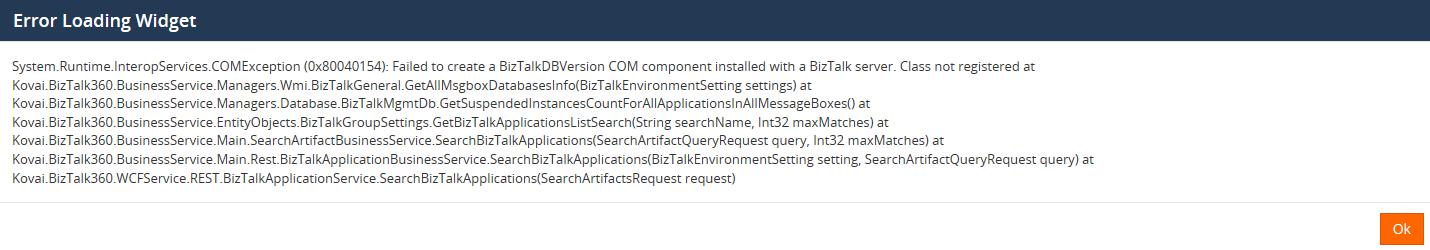 access denied and com activation failure in BizTalk Server