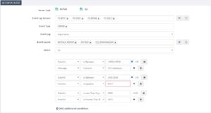Insights and control your BizTalk Environment using BizTalk360 Event Log viewer- Advanced Data Monitoring configurations screen