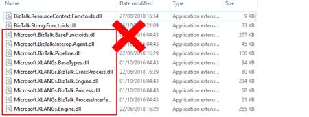 Microsoft BizTalk Mapper Unable to load wrapper cause