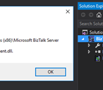 Microsoft BizTalk Mapper Unable to load wrapper