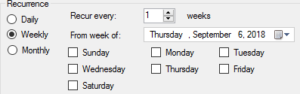 BizTalk Server 2016 Feature Pack 3: Weekly Service Window