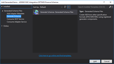 BizTalk Server: Generate Schemas from a Well-Formed XML