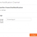 Introducing the PowerShell Notification Channel in BizTalk360
