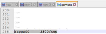 SAP.Middleware.Connector.RfcCommunicationException: LOCATION CPIC (TCP/IP) on local host BTSSERVERNAME with Unicode, ERROR service '?' unknown: solution
