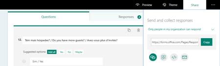Microsoft Form: Share