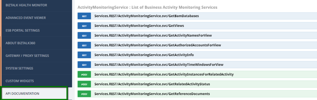 Terminating Dehydrated Service instances - API Documentation screen