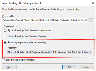 BizTalk Bindings Exportation: How to Export BizTalk Server Resource Bindings by Assembly FQName with PowerShell