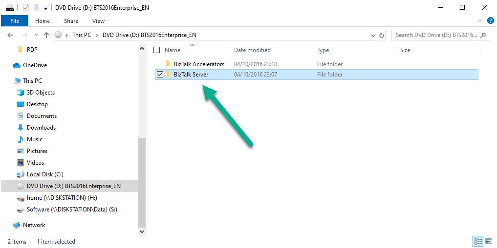 Additional licenses needed for BizTalk components on separate servers - BizTalk Server folder