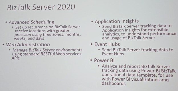 BizTalk Server 2020 Advance Scheduling