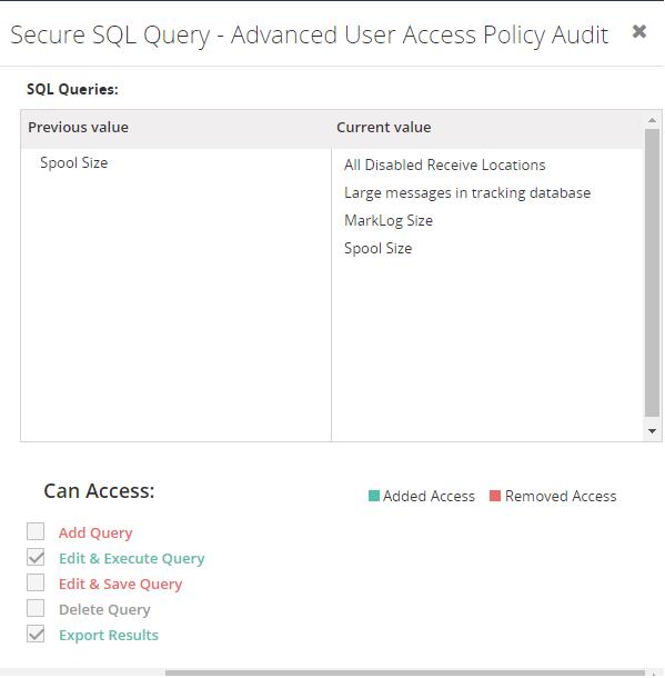 Secure SQL Query Audit