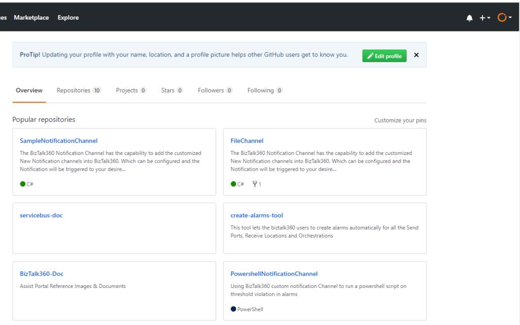 BizTalk360-GitHub