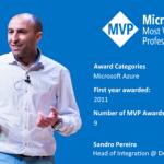 Thanks! Awarded as Microsoft Azure MVP 2019-2020