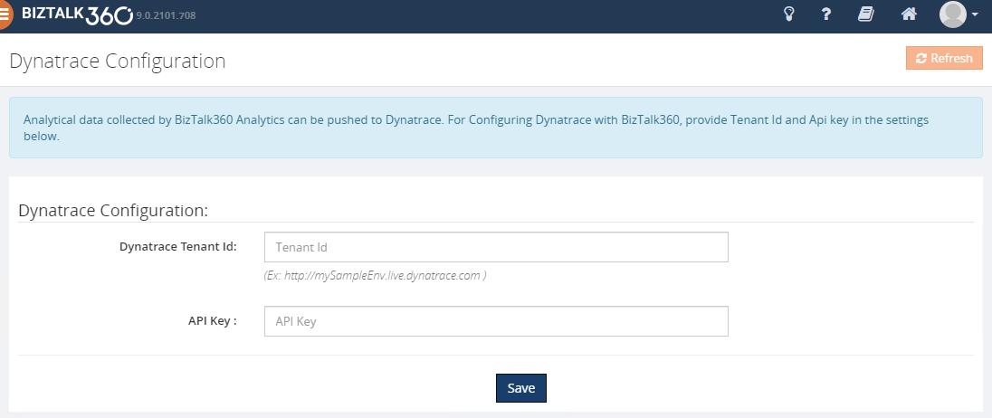 BizTalk360-Dynatrace-Configuration