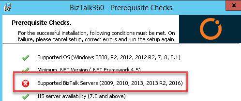 BizTalk360-Prerequisite-Check