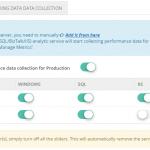 Performance Data Collection Optimization