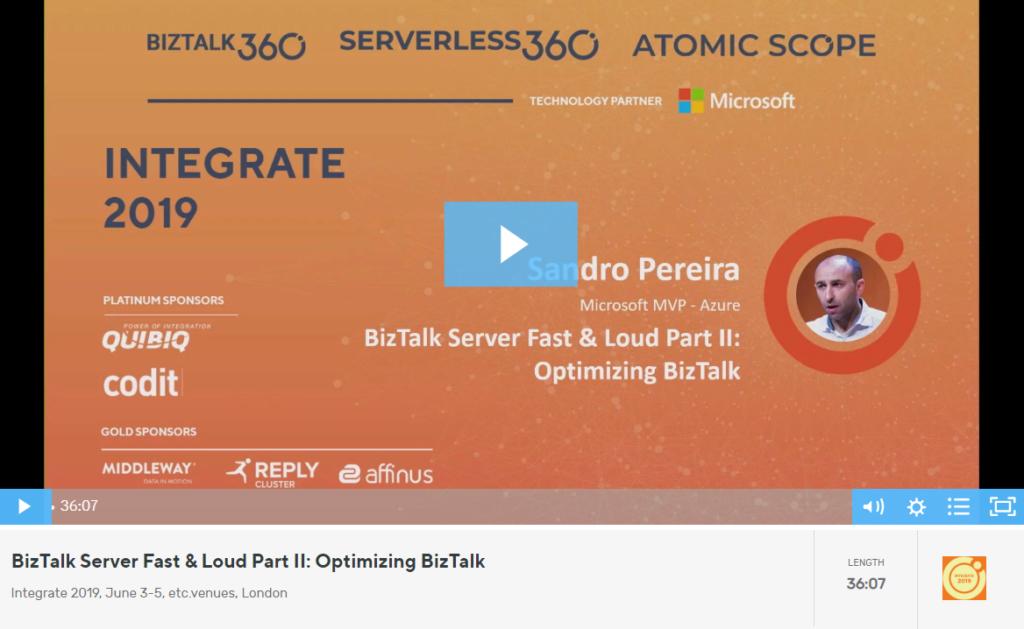 BizTalk Server Fast & Loud Part II Video