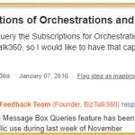 Querying BizTalk Subscriptions in BizTalk360