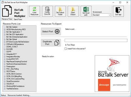 Devscope BizTalk Port Multiplier tool