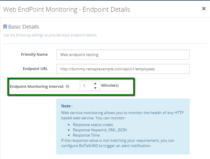 web-endpoint-monitoring