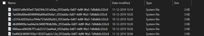IIS-key-corruption