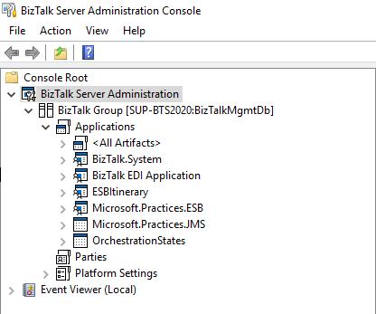 BizTalk-Server-Administration-Console