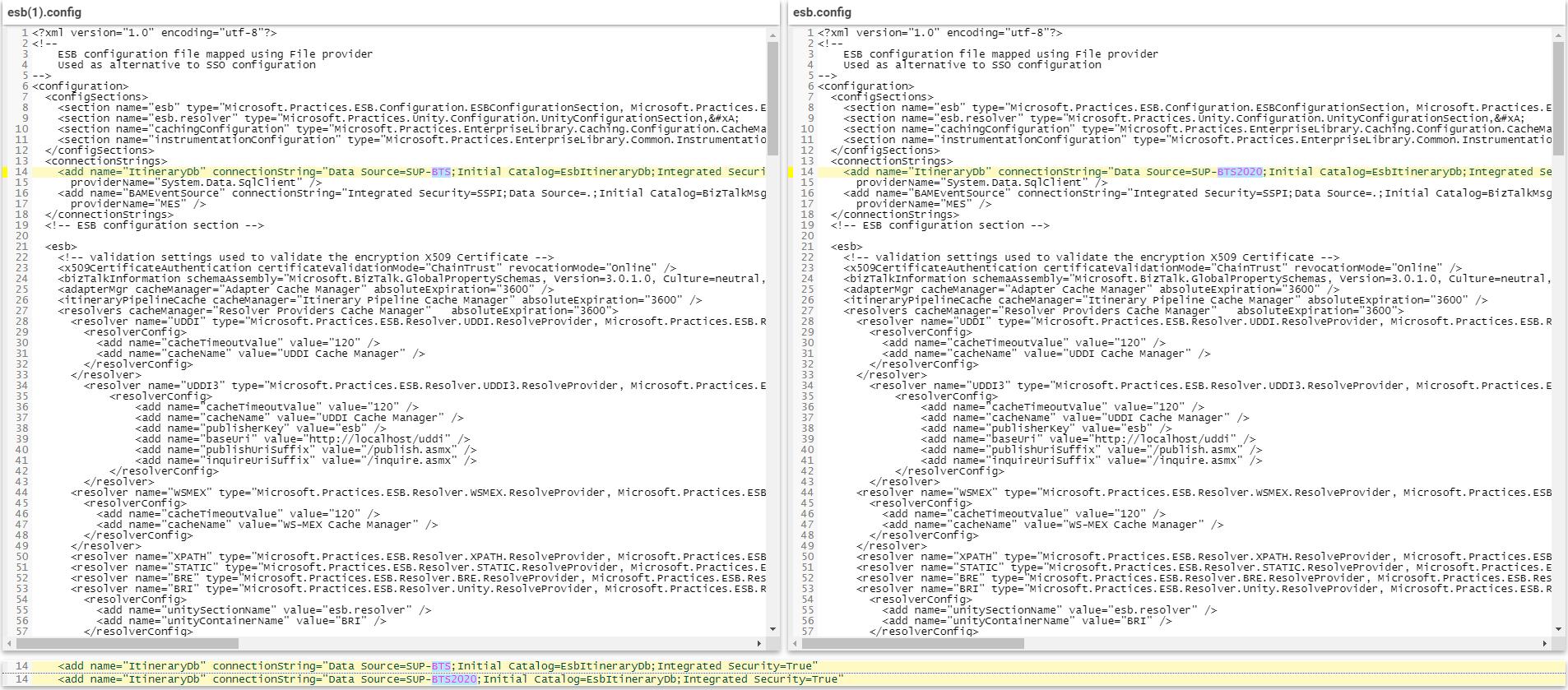 ESB-Config-File