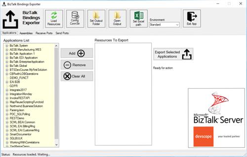 DevScope BizTalk Bindings Exporter Tool