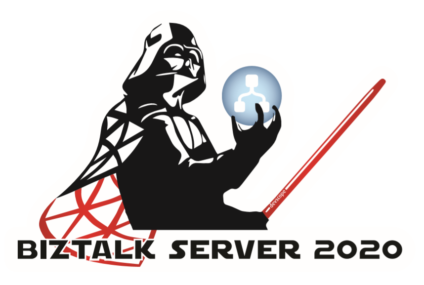 Lord BizTalk Server Darth Vader sticker