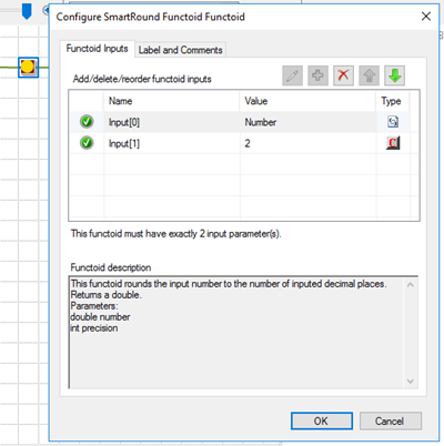 BizTalk Server Math Functoids: SmartRound Functoid