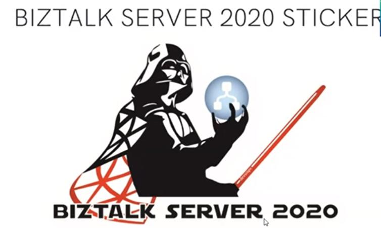 BizTalk 2020 Sticker