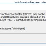 BizTalk Administration Console: Internal error: No transaction is active
