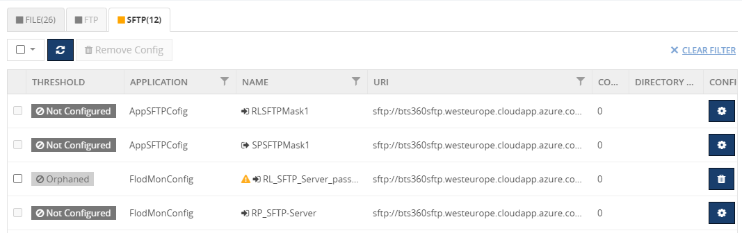SFTP Authentication