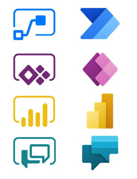 New Power Platform logos